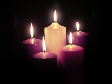Advent candle hunting