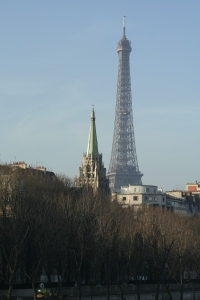 The American Church and Eiffel Tower copy